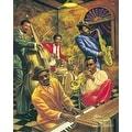 ''Cool Jazz'' by Sarah Jenkins Music Art Print (20 x 16 in.) - Thumbnail 0
