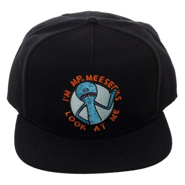 4726bc6b9e056 Shop Rick   Morty Mr Meeseeks Snapback - Free Shipping On Orders Over  45 -  Overstock.com - 20559953