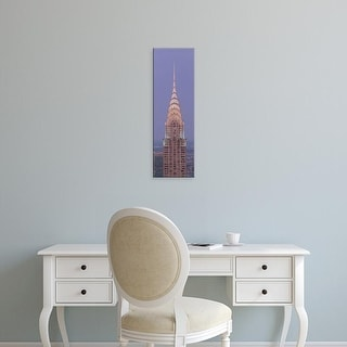 Easy Art Prints Panoramic Images's 'Chrysler Building New York NY' Premium Canvas Art