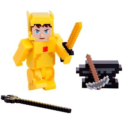 "Terraria Gold Armor Player 3"" Action Figure - multi"