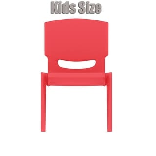 "2xhome - Red - Kids Size Plastic Side Chair 10"" Seat Height Red Childs Chair Childrens Room School Chairs No Arm Arms Armless"