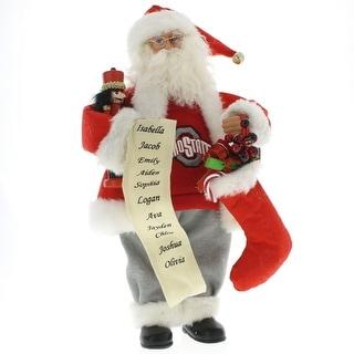 Ohio State Buckeyes Santa Claus