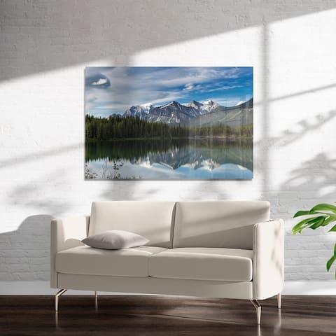 MOUNTAIN LANDSCAPE Art on Acrylic by Kavka Designs