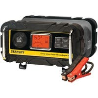 Stanley Bc15Bs Battery Charger With Engine Start (15-Amp Charger, 40-Amp Starter)