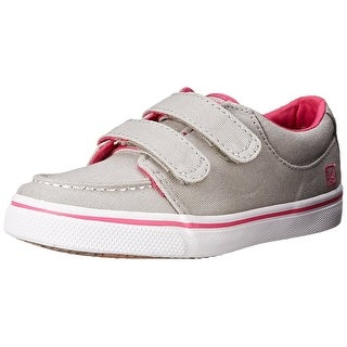 Sperry Girls Top-Sider Hallie Hook & Look Sneaker Shoes