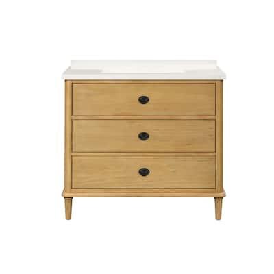 """Eglin 31"""" Wood Single Drawer Vanity Set"""