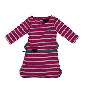 U.S. Polo Assn. Girls Tunic Top Striped