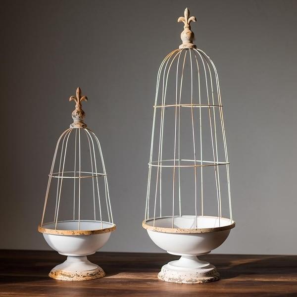 RusticReach Decorative Iron Bird Cage