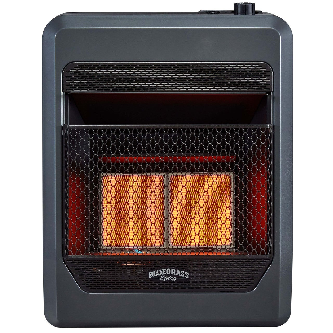Bluegrass Living Natural Gas Vent Free Infrared Gas Space Heater With Blower And Base Feet 20 000 Btu Model B20tnir Bb Overstock 31666417