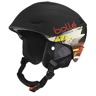 Bolle Sharp Helmets, Soft Black/Red, 61-63 cm