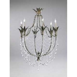 "Cyan Design 6492-6 39.5"" Six Lamp Chandelier from the Luciana Collection"