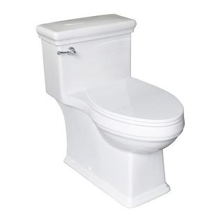 Mirabelle MIRKW241NS Key West 1.28 GPF One-Piece Elongated ADA Height Toilet wit