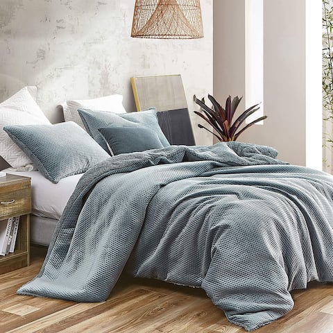 Embossy - Coma Inducer Oversized Duvet Cover - Cinder Gray
