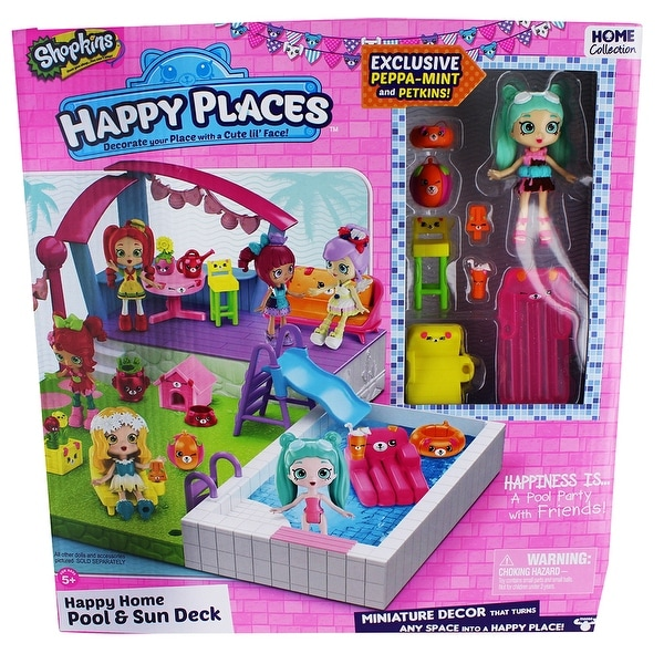 Shopkins Happy Places Pool Playset - multi