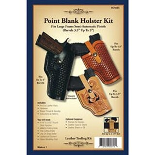 Point Blank Holster - Leathercraft Kit