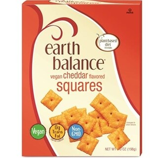 Earth Balance - Vegan Cheddar Squares ( 6 - 6 OZ)