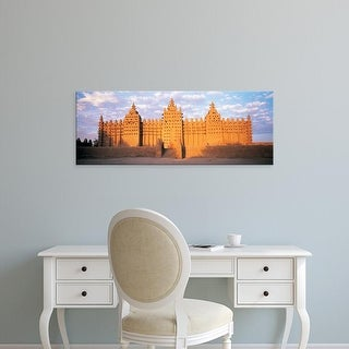 Easy Art Prints Panoramic Images's 'Great Mosque Of Djenne, Mali, Africa' Premium Canvas Art