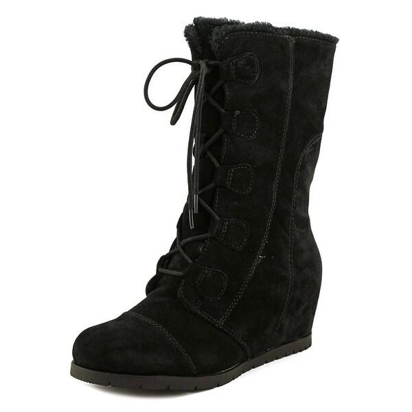 Baretraps Brinda Women Round Toe Synthetic Black Snow Boot