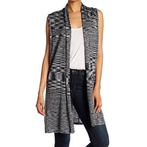 Joseph A Gray Women's Size Medium M Shawl Collar Vest Sweater
