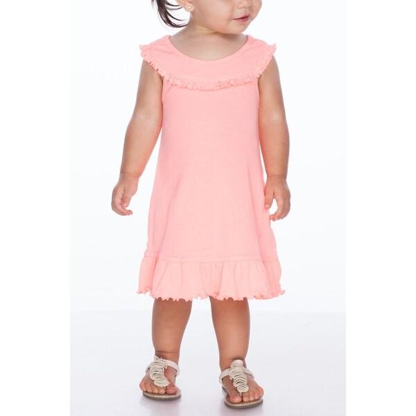 Kavio! Infants Girls Ruffle Collar Tank Dress