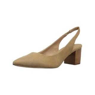 Tahari Womens Revel Block Heels Pointed Toe