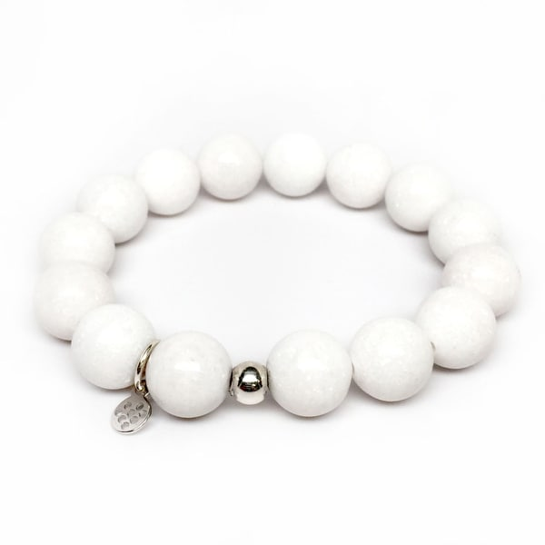 "White Jade Brook 7"" Bracelet"