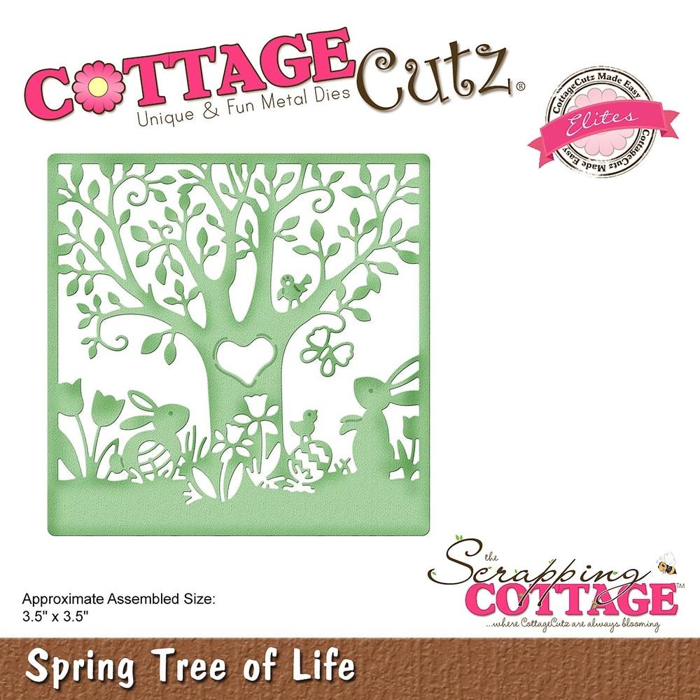 "Cottagecutz Die-handmade Twig Tree 2.8/""x3.8/"""