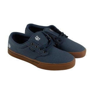 Etnies Jameson 2 Eco Mens Gray Canvas Lace Up Sneakers Shoes