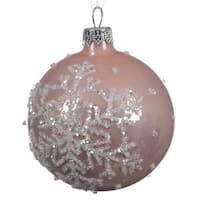 Pink Snowflake Ball