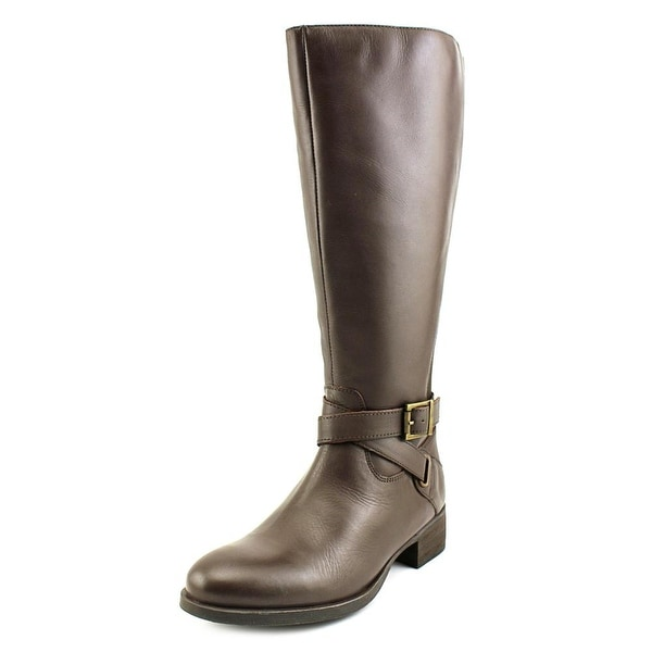 Matisse Destry Wide Calf Women W Round Toe Leather Knee High Boot