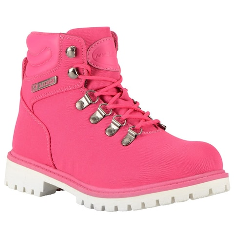"Lugz Grotto Ii Womens Boots Ankle Low Heel 1-2"" - Pink"