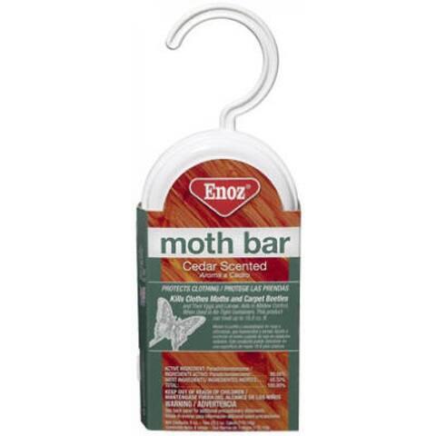 Enoz 495-6 Cedar-Ize Moth Bar With Closet Hanger, 6 Oz