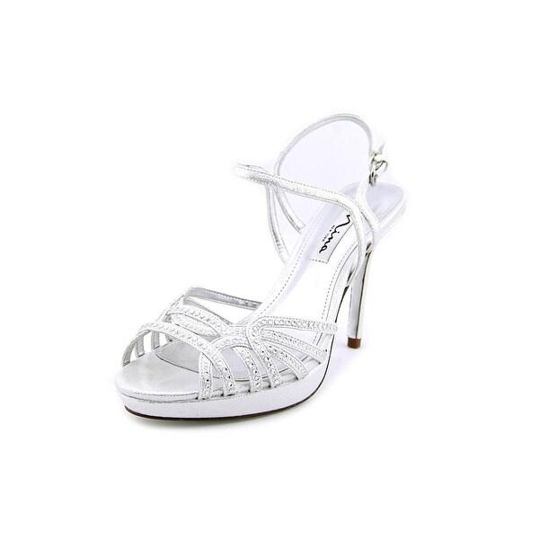 Nina Flirty Women Silver Reflect Sandals