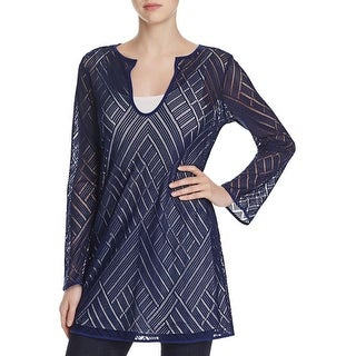 Nic + Zoe Womens Tunic Top Lace Lined (3 options available)