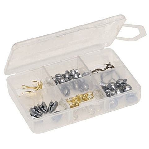 Plano Micro Tackle Organizer - 6 compartment - Clear