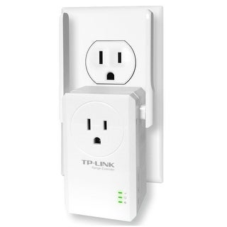 Tp-Link Tl-Wa860re N300 Wi-Fi Range Extender With Pass-Through Outlet
