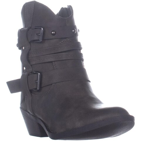 Report Damian Western Ankle Boots, Tan - 6.5 US