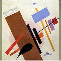 ''Suprematism, 1917'' by Kasimir Malevich Abstract Art Print (35.5 x 35.5 in.)