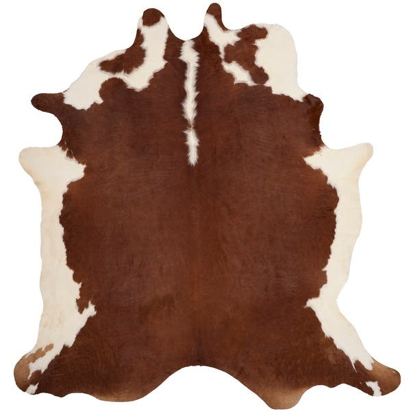 Safavieh Handmade Cow Hide Lorean Cabin Lodge Leather Rug On Sale Overstock 6128508