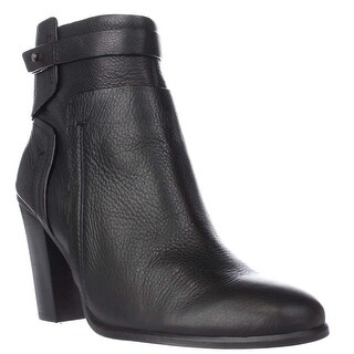 Vince Camuto Faythe Ankle Strap Booties, Black