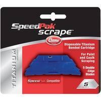 Speedpak Scrape Replacement Blades 5/Pkg-For 18737