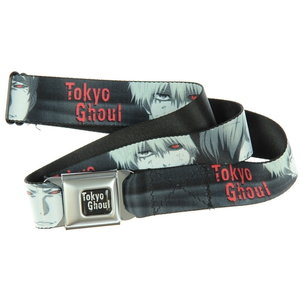 Tokyo Ghoul 4 Character Faces Seatbelt Belt-Holds Pants Up