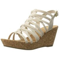 Rampage Women's Josie Wedge Sandal