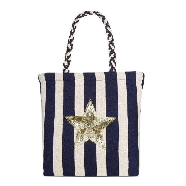 d2178243779a Shop Circus by Sam Edelman Womens Cooper Tote Handbag Striped Shopper -  Large - Free Shipping On Orders Over  45 - Overstock - 25596068