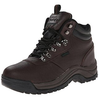 Propet Mens Hiking Boots Leather Textured - 11 extra wide (e+, ww)