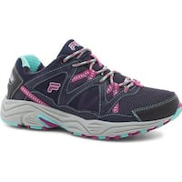 Fila Women's Vitality V Running Shoe Fila Navy/Aruba Blue/Fuchsia Red