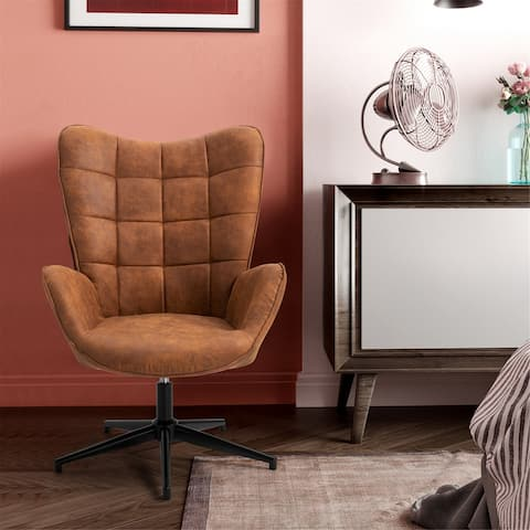 Furniture R Leisure Chair with Round Arm