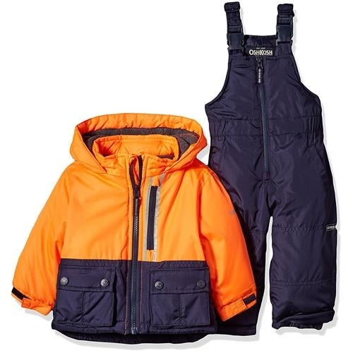 Osh Kosh Boys 12-24 Months Colorblock Snowsuit Set