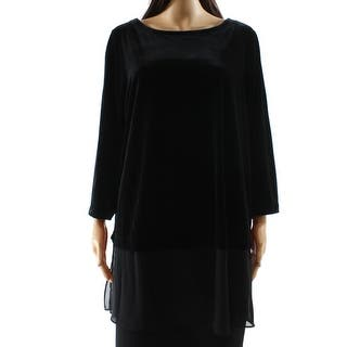 Alfani NEW Deep Black Women's Size 1X Plus Velvet Chiffon-Trim Blouse|https://ak1.ostkcdn.com/images/products/is/images/direct/3e1947723a993612c60b7c63d8a3fbfa9ea92daf/Alfani-NEW-Deep-Black-Women%27s-Size-1X-Plus-Velvet-Chiffon-Trim-Blouse.jpg?impolicy=medium