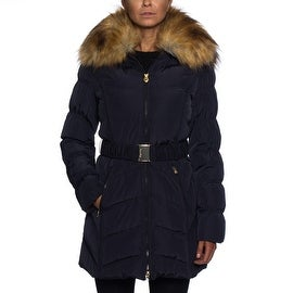 Laundry By Shelli Segal Down Coat with Faux Fur